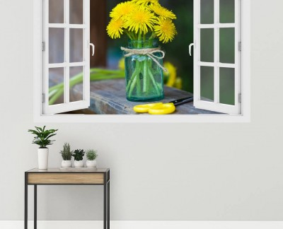 yellow-wildflowers-in-a-jar-floral-jar