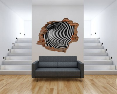 black-and-white-spiral-tunel