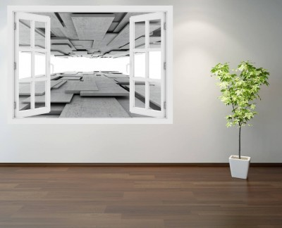 gray-rectangular-panels-architecture-design