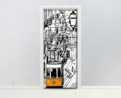 antique-artwork-city-tram-lisbon