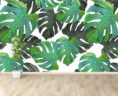 monstera-leafs
