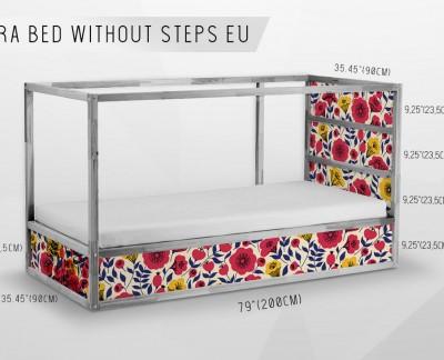Beautifuli Ikea Kura Bed Decals Loccodecals Com
