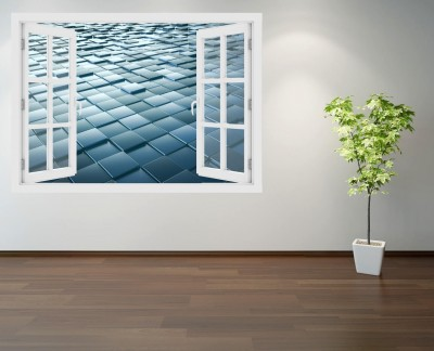 square-glass-panels-texture-cubes-design