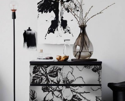 black-and-white-floral-patter